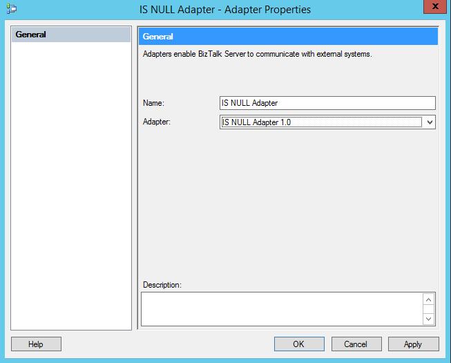 NullAdapter-AddAdapterInBizTalkConfig