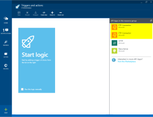 Azure Blog april 13th - triggers and actions