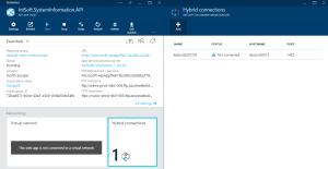 api app - hybrid connections